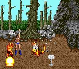 6pak golden axe screenshot