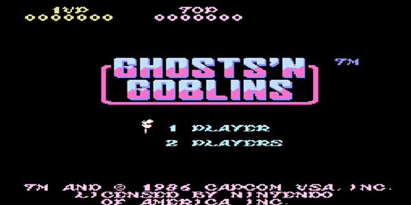 Ghosts 'N Goblins – NES