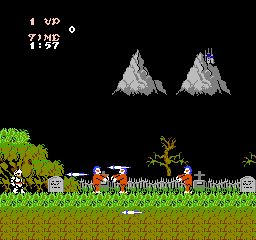 Ghosts N Goblins Haunted Graveyard