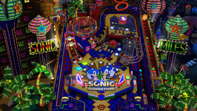 sonic generations casino night