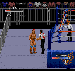 WWF Rage outside ring