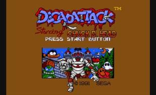 Decap Attack – Genesis