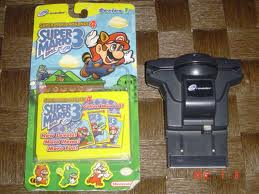 e-Reader and Super Mario Advance 4 Cards