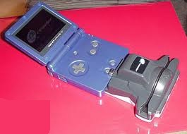 e-Reader and GBA SP