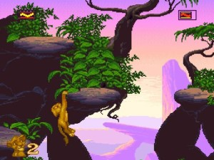 SNES Lion King