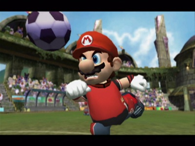 super mario strikers angry