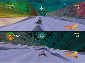 wipeout 64 splitscreen