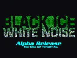 Black Ice White Noise