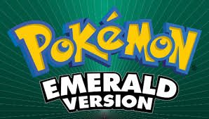 Pokémon Emerald Version – GBA