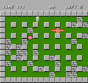 "The ""retro"" mode - Bomberman 1983"