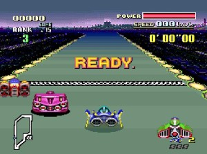 f-zero racing screenshot