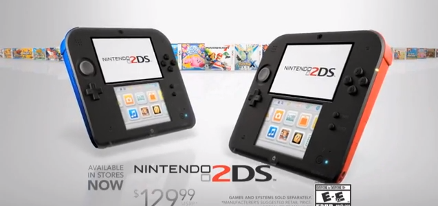 Nintendo: Are They Taking a Step Backwards with the 2DS?