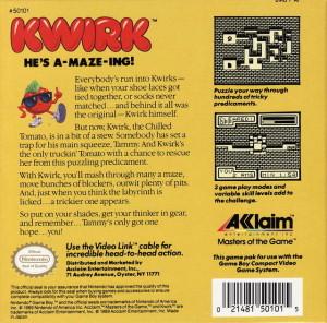 kwirk - back