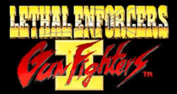 Lethal Enforcers II: Gun Fighters – Sega Genesis