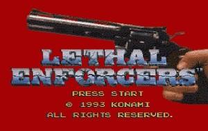 Lethal Enforcers – Sega CD