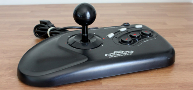 Sega Genesis Arcade Power Stick