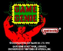 Game Genie (for the NES)