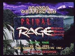 Primal Rage – Atari Jaguar CD