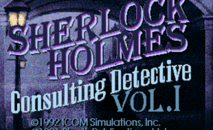 Sherlock Holmes Consulting Detective – TurboGrafx CD