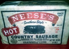 bacon Neeses sausage