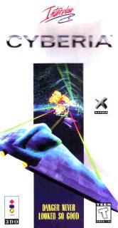 Cyberia 3DO Cover