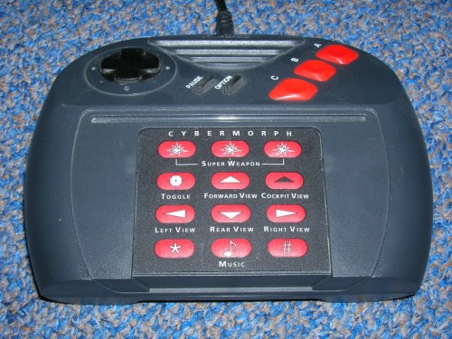 Jaguar Controller with Overlay