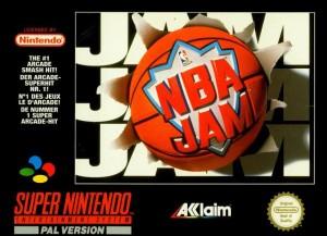 NBA Jam SNES coverart
