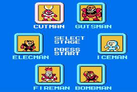 megaman stage select