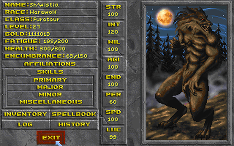 how to play daggerfall