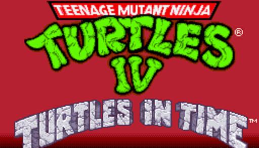 Teenage Mutant Ninja Turtles IV: Turtles in Time – SNES