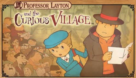Professor Layton and the Curious Village – Nintendo DS