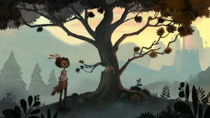 Broken Age Vella Talking Tree