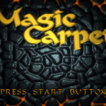 Magic Carpet – Sega Saturn