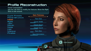 Character Creation of a FemShep