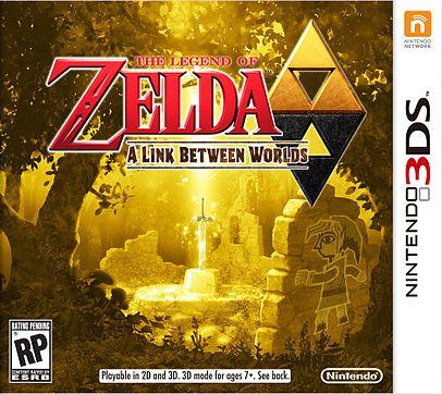 Zelda: A Link Between Worlds - 3DS