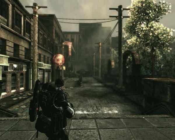 Gears of War um jogo de ao em terceira pessoa ganhador de. . Mais facil. .