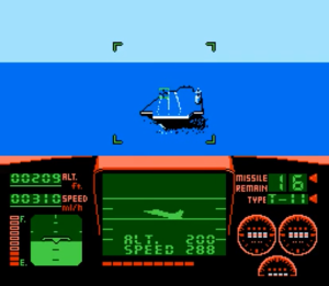 Can you name any other game where landing your fighter was as important as shooting down enemies?