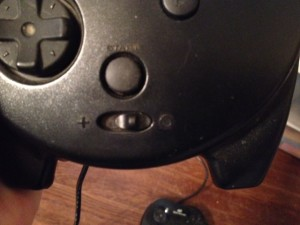 3D Controller Mode Switch