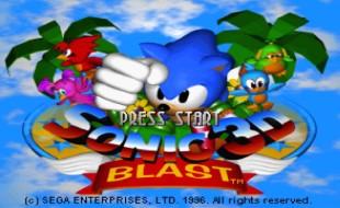 Sonic 3D Blast – Sega Saturn