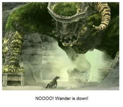wander down