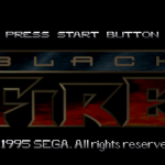 Black Fire – Sega Saturn