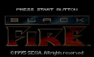 Black Fire – Sega Saturn