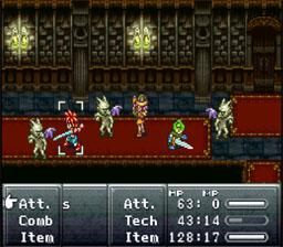 No random battle screens in Chrono Trigger!