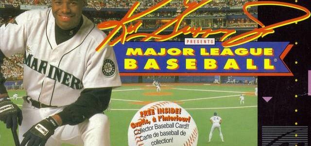 Ken Griffey Jr. Presents: Major League Baseball – SNES