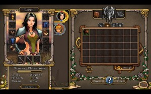 Loren Character_Inventory Interface