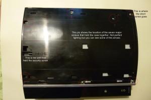 PS3 Inner Case
