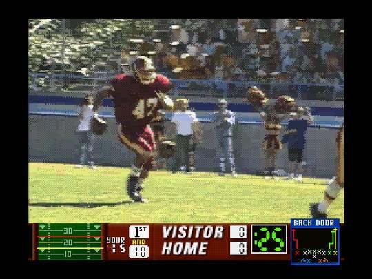 Quarterback Attack receiver