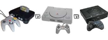 Sega vs Sony vs Nintendo