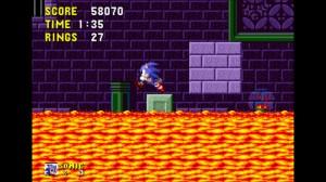 Sonic 1 Marble Zone Lava
