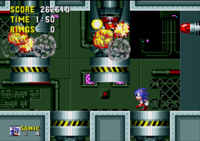 Sonic boss